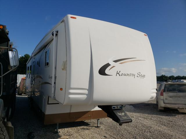 Salvage cars for sale from Copart Apopka, FL: 2004 Kountry 5th Wheel