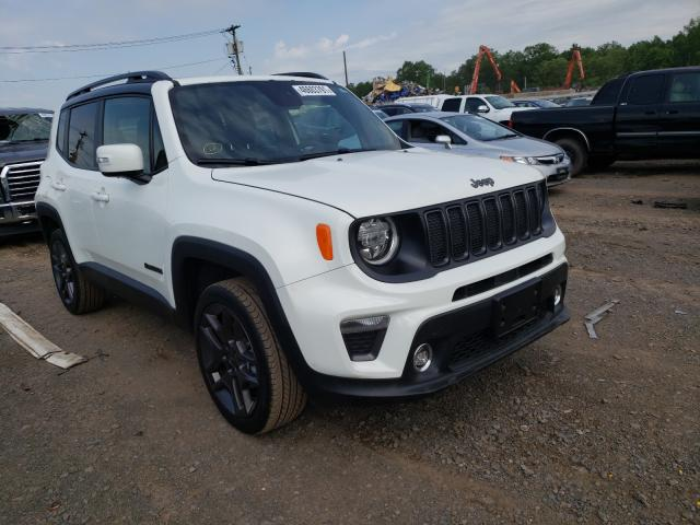 Salvage cars for sale from Copart Hillsborough, NJ: 2020 Jeep Renegade L