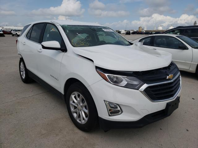 Salvage cars for sale from Copart New Orleans, LA: 2021 Chevrolet Equinox LT