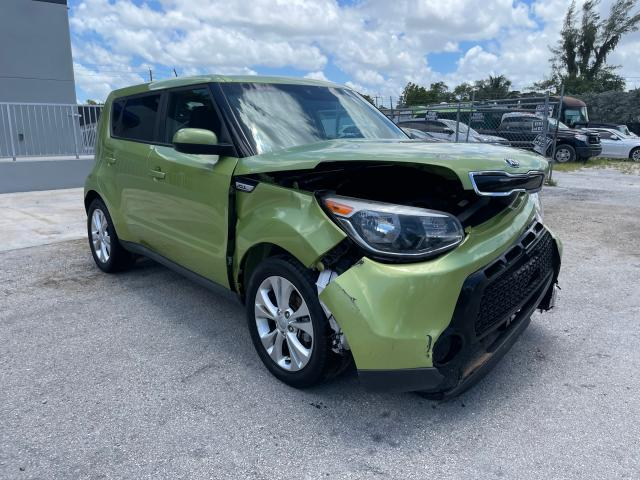 Salvage cars for sale from Copart Opa Locka, FL: 2016 KIA Soul +