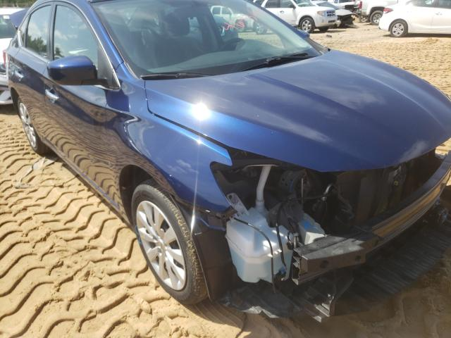 Salvage cars for sale from Copart Gaston, SC: 2019 Nissan Sentra S
