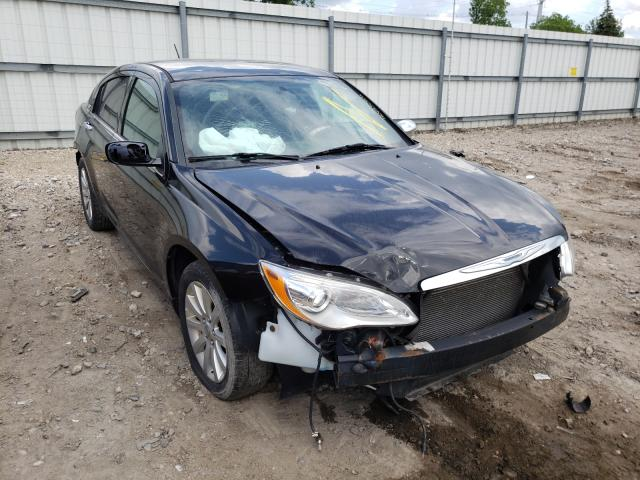 Salvage cars for sale from Copart Lansing, MI: 2014 Chrysler 200 Limited