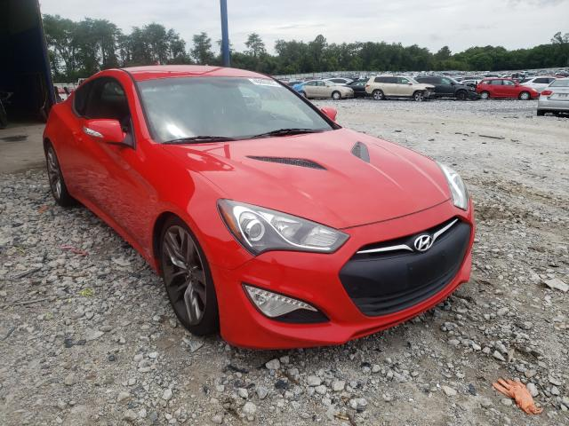 Salvage cars for sale from Copart Cartersville, GA: 2015 Hyundai Genesis CO