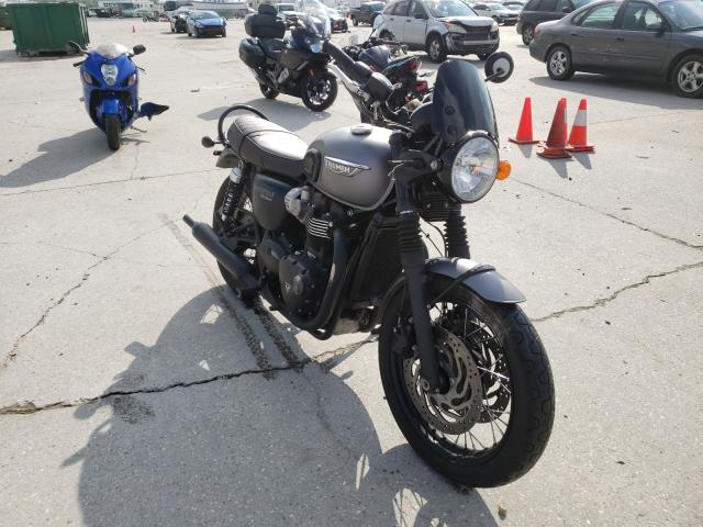 Salvage motorcycles for sale at New Orleans, LA auction: 2018 Triumph Bonneville