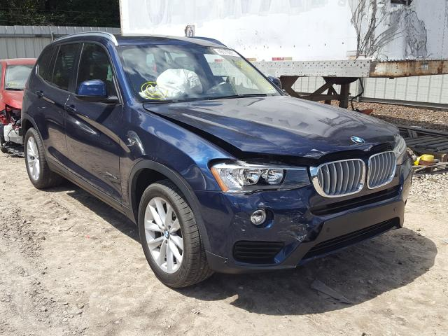 Salvage cars for sale from Copart Midway, FL: 2017 BMW X3 SDRIVE2