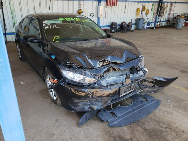 Salvage cars for sale from Copart Colorado Springs, CO: 2017 Honda Civic LX