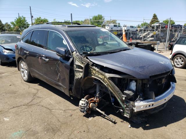 Salvage cars for sale from Copart Denver, CO: 2016 Acura MDX Advance