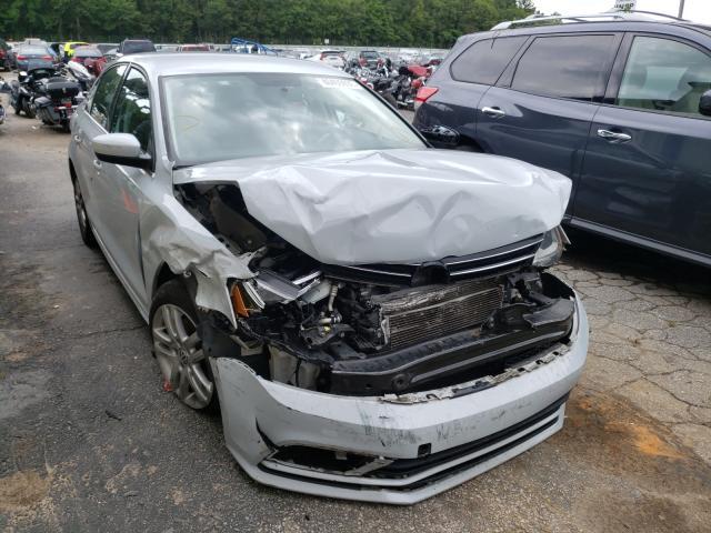 Vehiculos salvage en venta de Copart Austell, GA: 2017 Volkswagen Jetta S