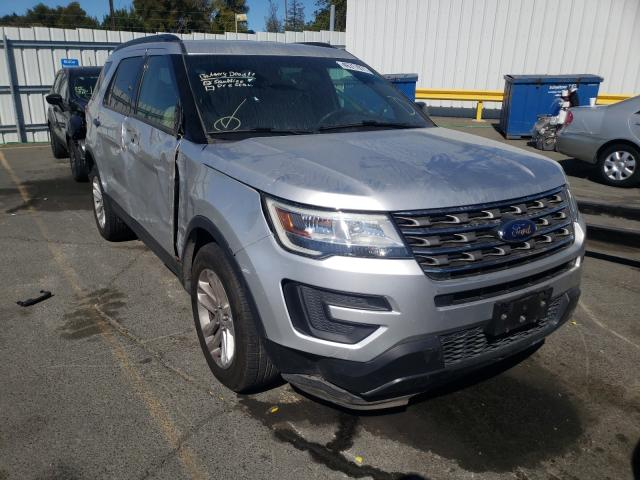 Salvage cars for sale from Copart Vallejo, CA: 2016 Ford Explorer