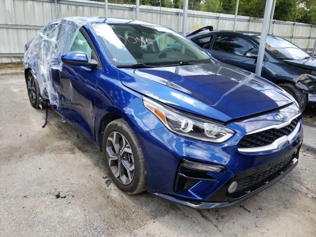 Vehiculos salvage en venta de Copart Savannah, GA: 2019 KIA Forte FE