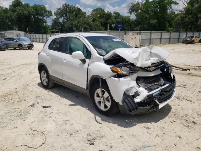 Salvage cars for sale from Copart Ocala, FL: 2020 Chevrolet Trax LS