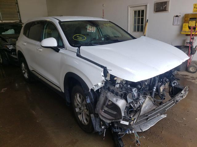 Salvage cars for sale from Copart Davison, MI: 2020 Hyundai Santa FE S