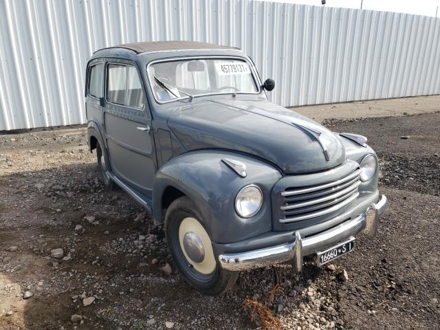 Salvage cars for sale from Copart New Britain, CT: 1954 Fiat 500