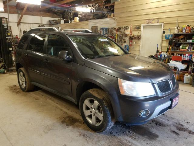 Salvage cars for sale from Copart Billings, MT: 2007 Pontiac Torrent