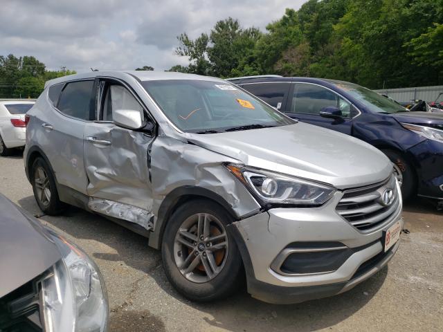 Salvage cars for sale at Shreveport, LA auction: 2018 Hyundai Santa FE S