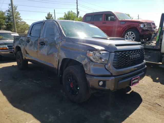 Salvage cars for sale from Copart Denver, CO: 2021 Toyota Tundra CRE