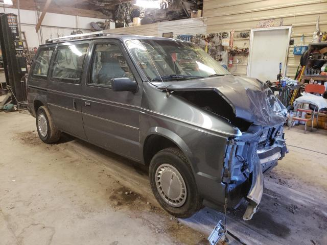 Plymouth salvage cars for sale: 1989 Plymouth Voyager SE