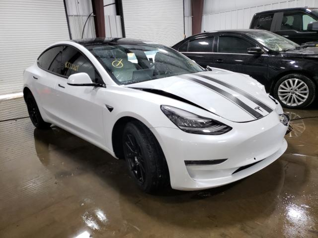 Salvage cars for sale from Copart West Mifflin, PA: 2020 Tesla Model 3