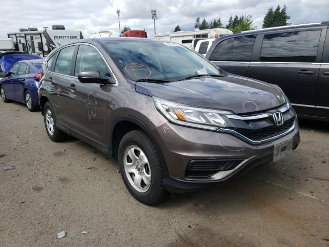 2015 Honda CR-V LX en venta en Woodburn, OR