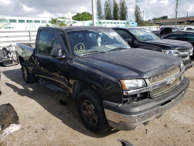 Salvage cars for sale from Copart Miami, FL: 2003 Chevrolet Silverado