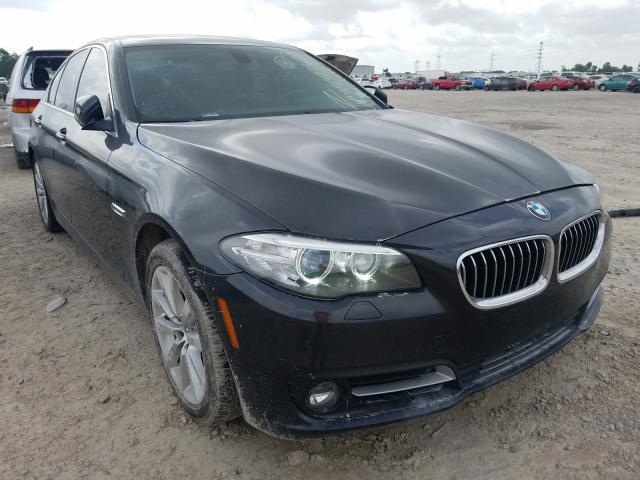 Salvage cars for sale from Copart Houston, TX: 2016 BMW 535 I