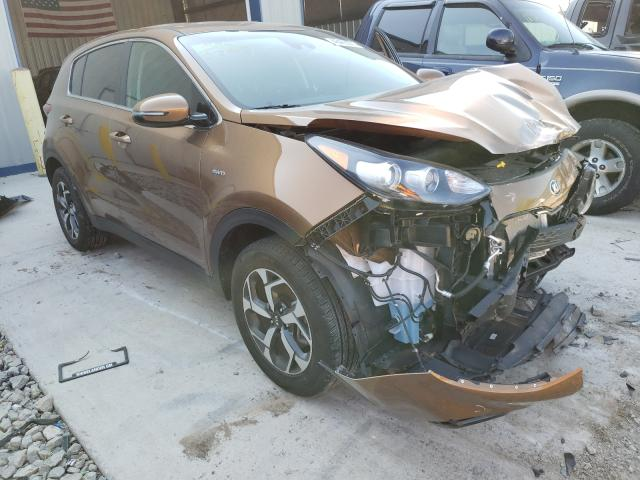 Salvage cars for sale from Copart Appleton, WI: 2020 KIA Sportage L