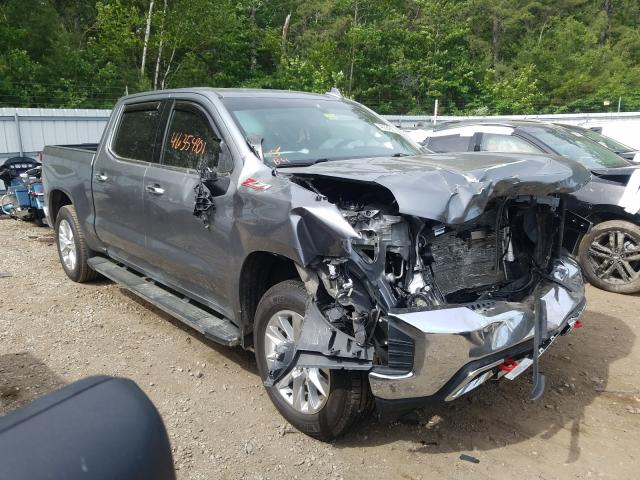 Salvage cars for sale from Copart Lyman, ME: 2019 Chevrolet Silverado