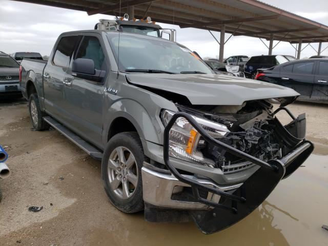 Salvage cars for sale from Copart Temple, TX: 2019 Ford F150 Super