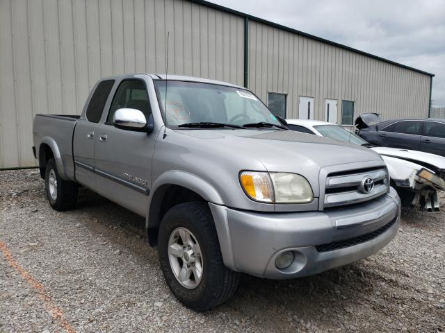 Salvage cars for sale from Copart Lawrenceburg, KY: 2004 Toyota Tundra ACC