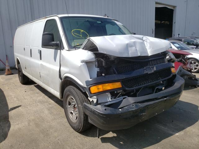 Chevrolet salvage cars for sale: 2020 Chevrolet Express G2