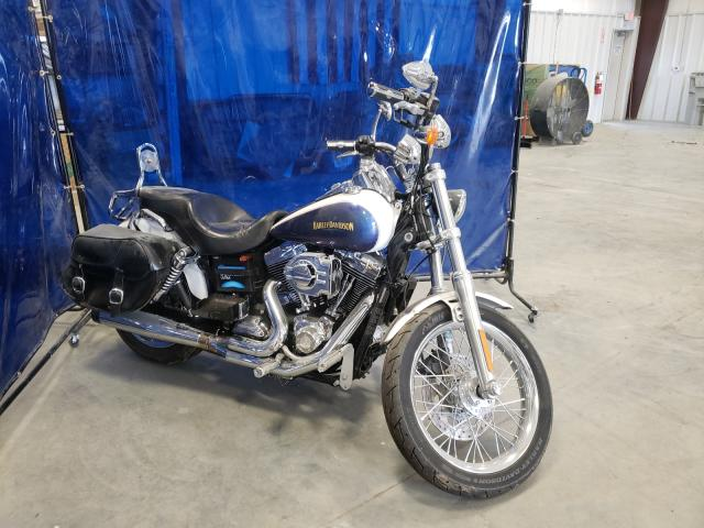Salvage cars for sale from Copart Spartanburg, SC: 2010 Harley-Davidson Fxdc