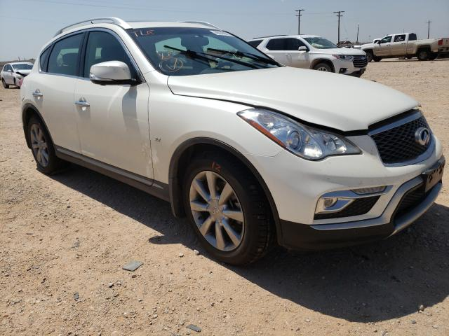 Salvage cars for sale from Copart Andrews, TX: 2017 Infiniti QX50