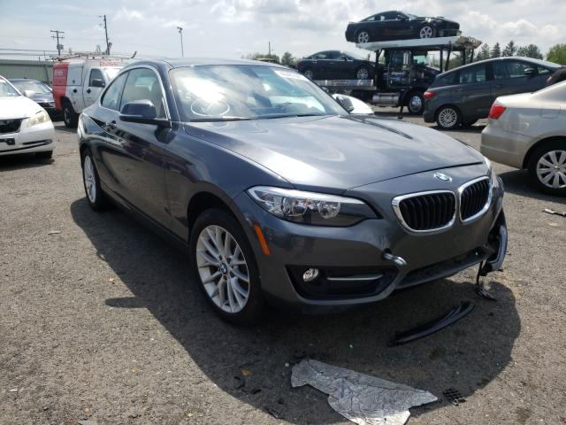 Salvage cars for sale from Copart Pennsburg, PA: 2017 BMW 230XI