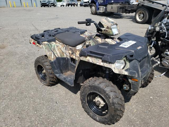 Salvage motorcycles for sale at Pennsburg, PA auction: 2018 Polaris Sportsman