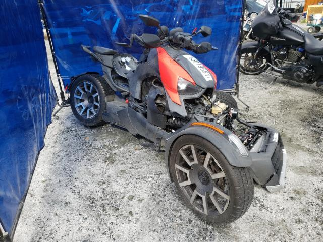 Salvage cars for sale from Copart Spartanburg, SC: 2019 Can-Am Ryker Rall