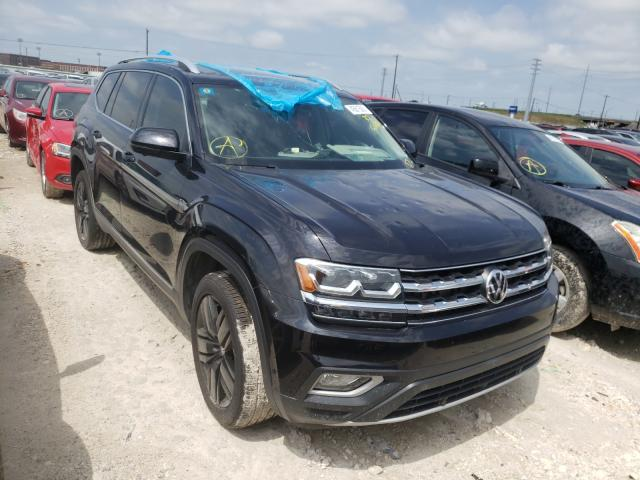 Salvage cars for sale from Copart Haslet, TX: 2018 Volkswagen Atlas SEL