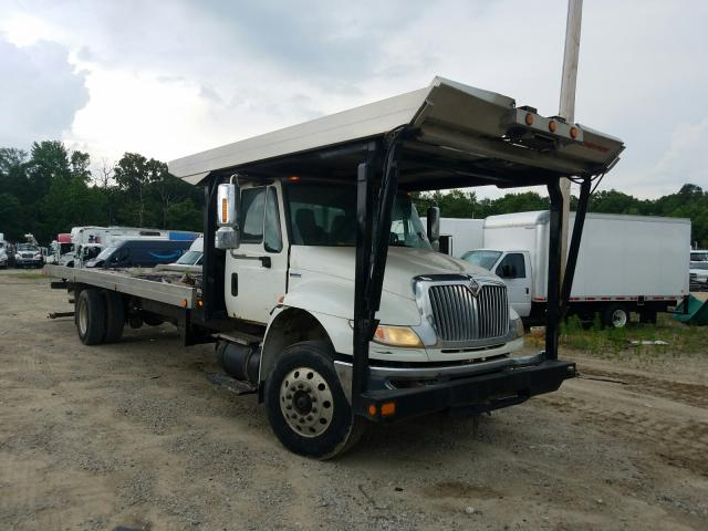 Salvage cars for sale from Copart Glassboro, NJ: 2008 International 4000 4400