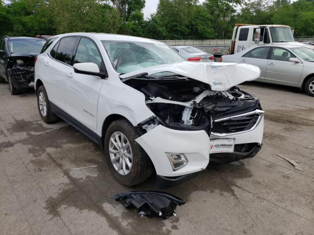 Salvage cars for sale from Copart Ellwood City, PA: 2018 Chevrolet Equinox LT
