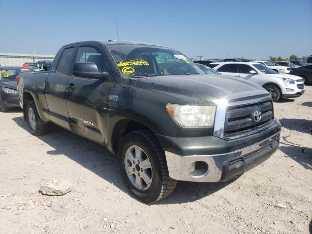Salvage cars for sale from Copart Kansas City, KS: 2010 Toyota Tundra DOU