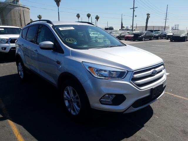 Salvage cars for sale from Copart Wilmington, CA: 2018 Ford Escape SE