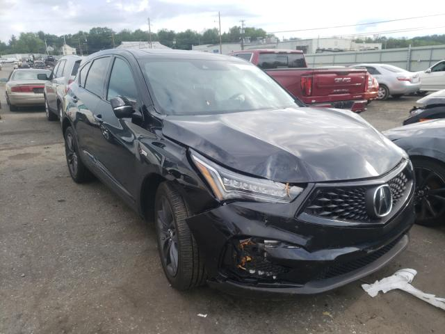 Acura RDX A-Spec salvage cars for sale: 2020 Acura RDX A-Spec