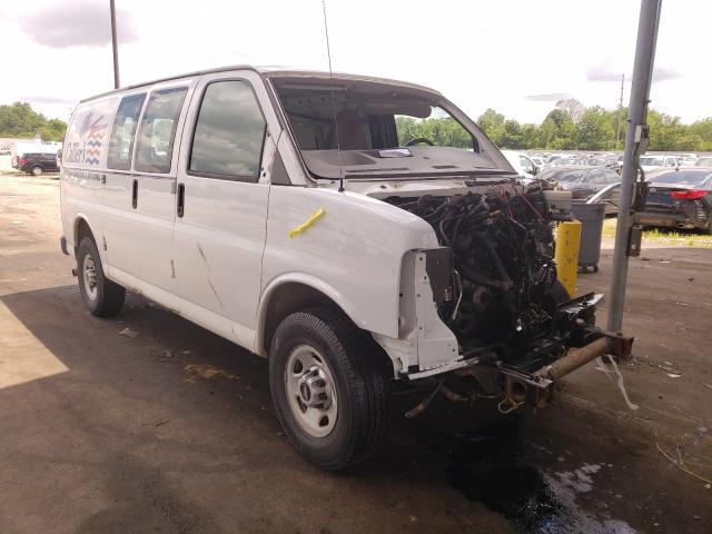 Salvage cars for sale from Copart Fort Wayne, IN: 2014 GMC Savana G25