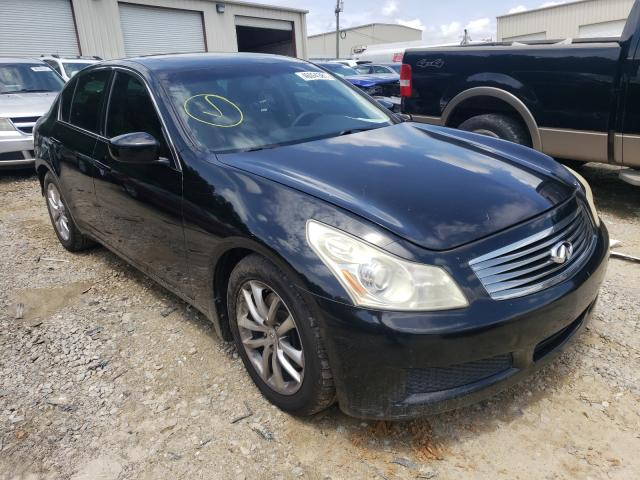 Salvage cars for sale from Copart Gainesville, GA: 2009 Infiniti G37 Base