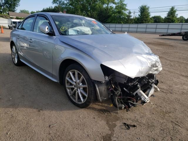Salvage cars for sale from Copart Finksburg, MD: 2016 Audi A4 Premium