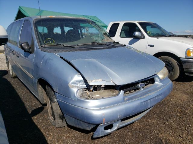 Salvage cars for sale from Copart San Martin, CA: 1998 Ford Windstar W