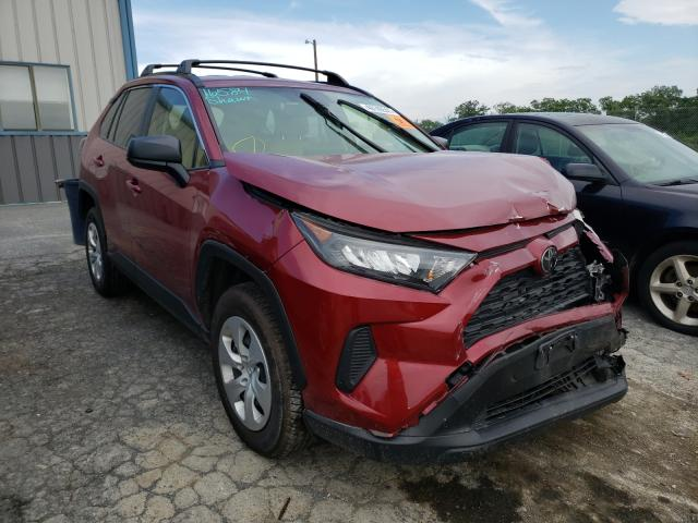 Salvage cars for sale from Copart Chambersburg, PA: 2019 Toyota Rav4 LE