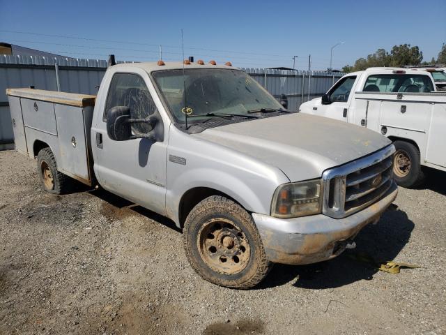 Vehiculos salvage en venta de Copart Fresno, CA: 2000 Ford F350 SRW S