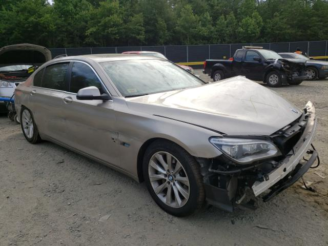 Salvage cars for sale from Copart Waldorf, MD: 2015 BMW Alpina B7