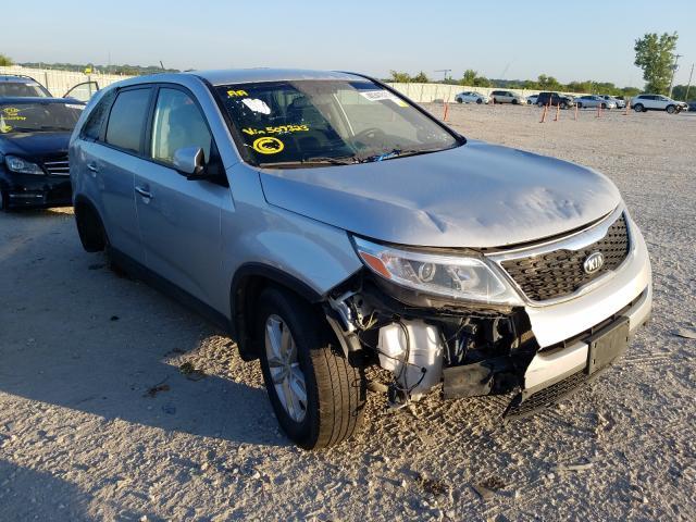 Vehiculos salvage en venta de Copart Kansas City, KS: 2014 KIA Sorento LX