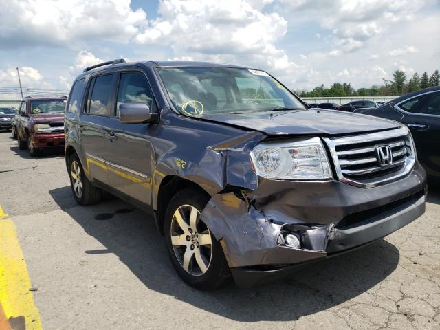 Salvage cars for sale from Copart Pennsburg, PA: 2015 Honda Pilot Touring